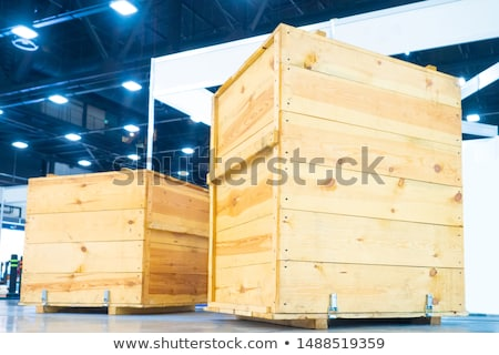 Machine Packing Products in Boxes for Shipment Stock photo © robuart