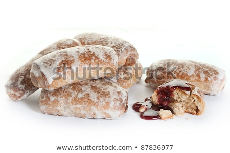 Traditional russian baked goods Stock photo © olira