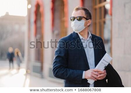 Dolgozik helyzet üzlet munkás vállalkozó orvosi Stock fotó © vkstudio