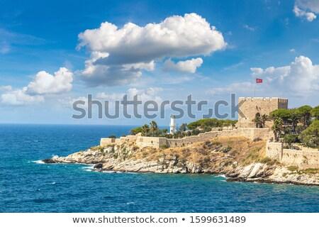 Pigeon Island Turkey Stock photo © Forgiss