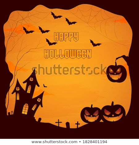 abstract holloween background stock photo © pathakdesigner