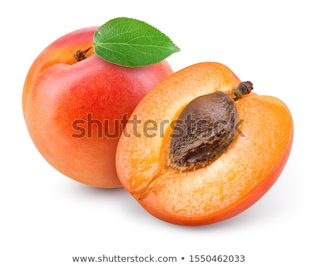 Taze kayısı gıda meyve yaz turuncu Stok fotoğraf © Dionisvera