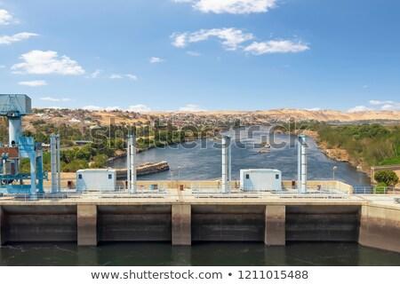 generating plant in Aswan Stock photo © prill