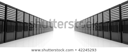 サーバー · 塔 · 3D · レンダリング · 実例 · インターネット - ストックフォト © spectral