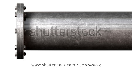 Pipe With Sealed Off End Stock photo © albund