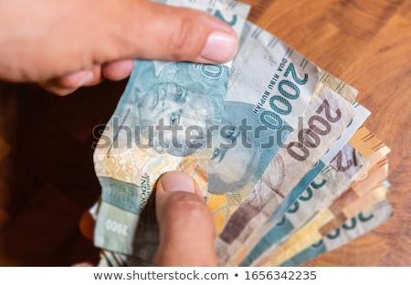 Stock fotó: Indonézia · asztal · minta · bankjegyek · pénz · utazás