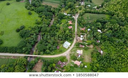 Costa Rican Landscape Stock photo © ajn