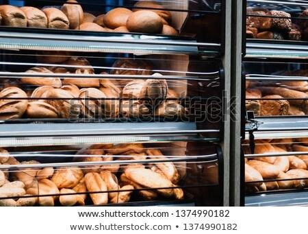 Választék kenyér természetes színes étel természet Stock fotó © JanPietruszka