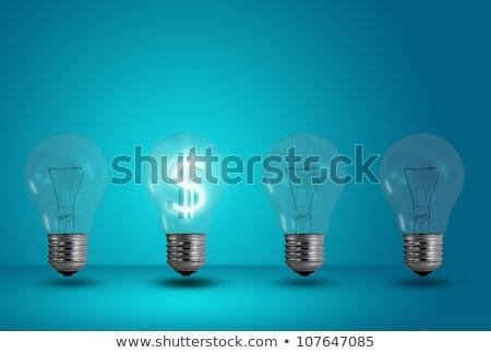 geld · Rood · witte · business · teken - stockfoto © lightsource