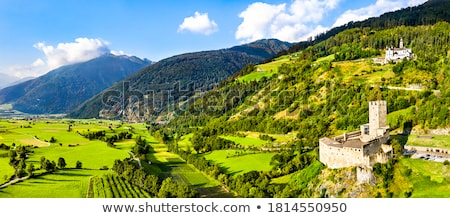 Burgeis castle in South Tyrol Stock photo © LianeM