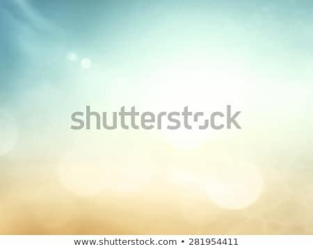 wektora · zamazany · morza · wygaśnięcia · pomarańczowy · kolorowy - zdjęcia stock © tuulijumala