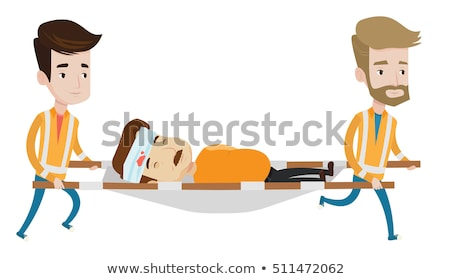 A transportation for sick and injured people Stock photo © bluering