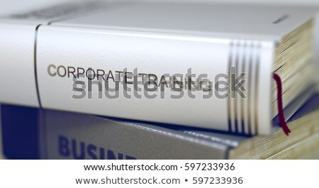 ビジネス 図書 タイトル 企業 訓練 3D ストックフォト © tashatuvango