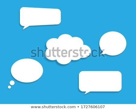 dialouge bubble Stock photo © get4net