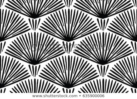 Monocromático étnico textura abstrato Foto stock © lissantee