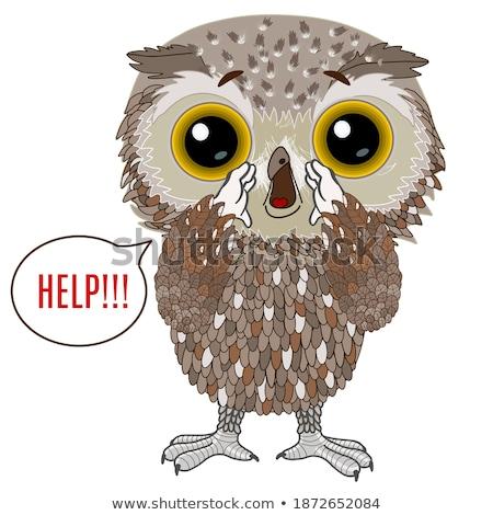 怖い 漫画 テロ 鳥 実例 動物 ストックフォト © cthoman