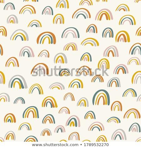vecteur · volume · Rainbow · magie · art - photo stock © vetrakori