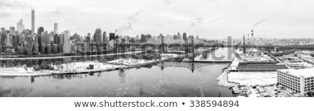 A panorama of the ice place at New York Stock photo © Lopolo