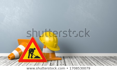 Warning Cone Stock photo © hlehnerer