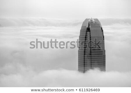 misty hong kong stock photo © joyr