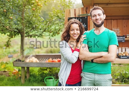 young couple of farmers Stock photo © photography33