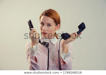 Ginger-haired receptionist Stock photo © photography33