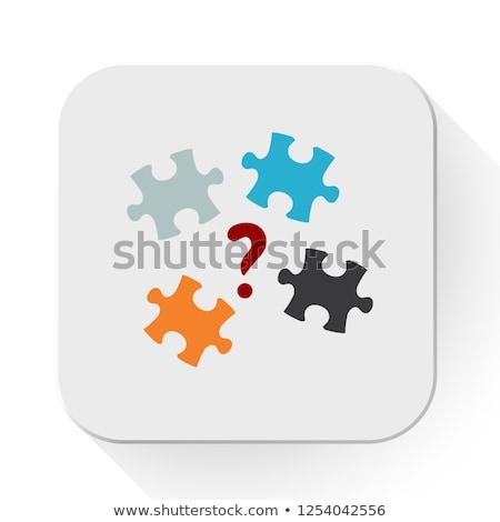 Puzzle sign Stock photo © 4designersart