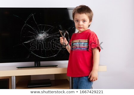 Boy with slingshot Stock photo © photography33