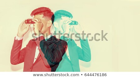 Businessman Observing Stock photo © cteconsulting