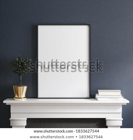 empty photos on the table Stock photo © burakowski