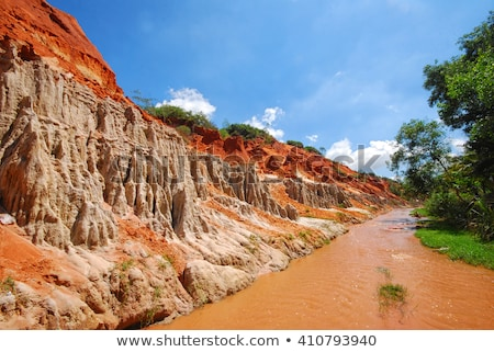Fairy stream Vietnam natuur landschap reizen Stockfoto © Witthaya