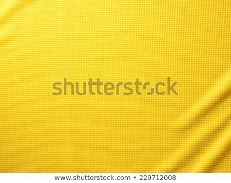 Stock photo: Green fabric cloth texture