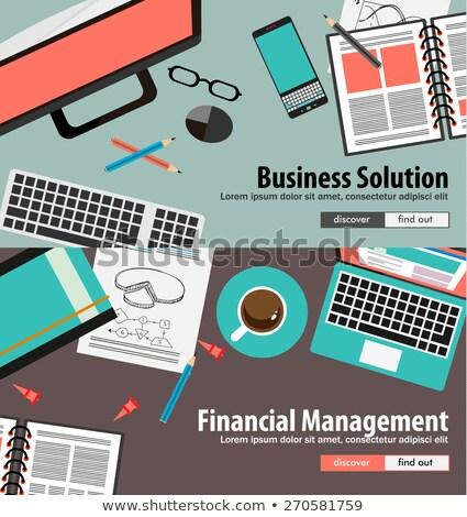 stijl · diagram · ui · iconen · business - stockfoto © davidarts