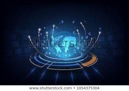 transferring commerce stock photo © lightsource