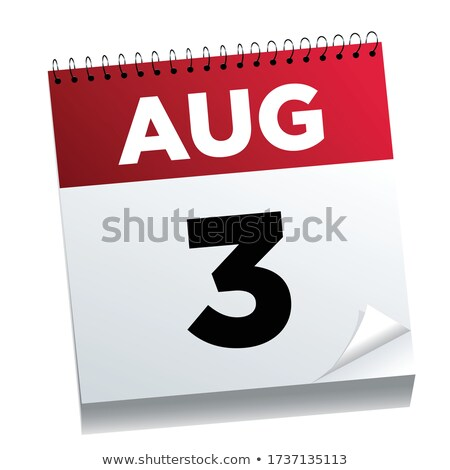 3rd August stock photo © Oakozhan
