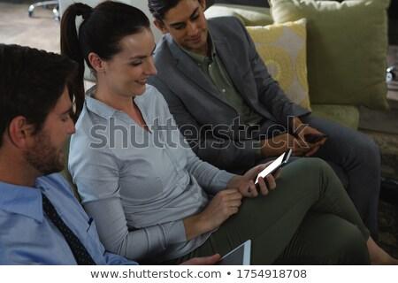группа исполнительного служба счастливым Сток-фото © wavebreak_media