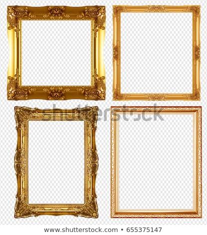прямоугольный кадр прозрачный искусства тень Сток-фото © romvo