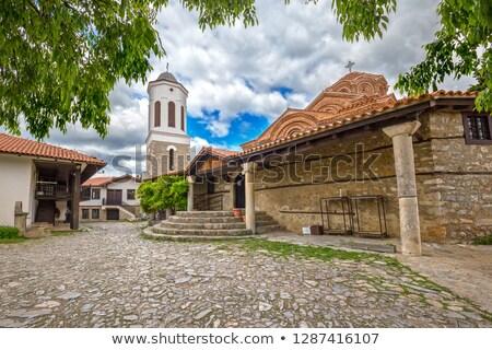 The Church of Holy Mary Perivleptos Ohrid Macedonia Stock photo © goce