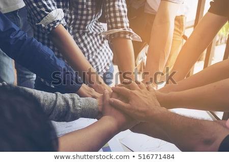Businesspeople working together stock photo © Minervastock