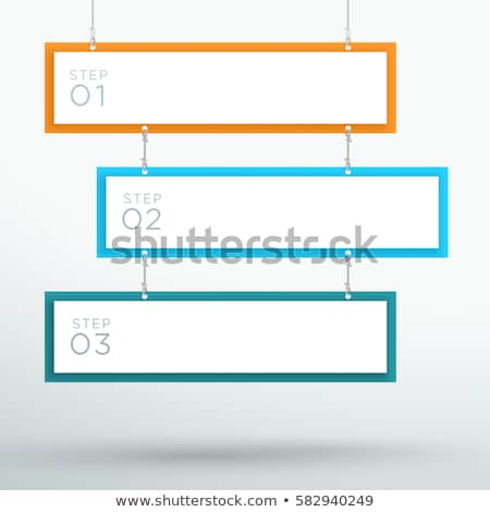 Workflow concept banner header. Stock photo © RAStudio