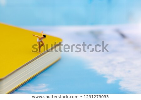 miniature woman in swimsuit Stock photo © nito