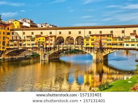 Italie · ville · paysage · lumière · pont · Voyage - photo stock © wjarek