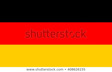 Almanya bayrak vektör federal cumhuriyet Stok fotoğraf © oxygen64