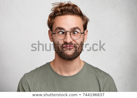 Portrait of a man grimacing Stock photo © photography33