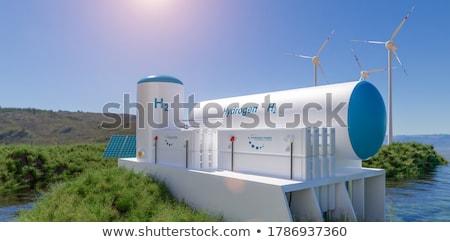 windturbine stock photo © guffoto