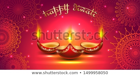 Diwali Background With Sparkle Stock photo © rioillustrator