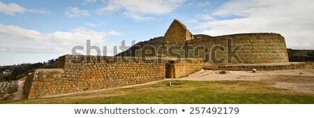 Ingapirca  Ancient stone ruins in Ecuador panorama Stock photo © pxhidalgo