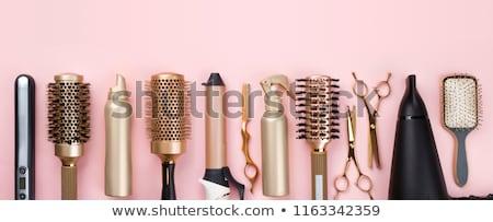 pink hair accessories stock photo © vanessavr