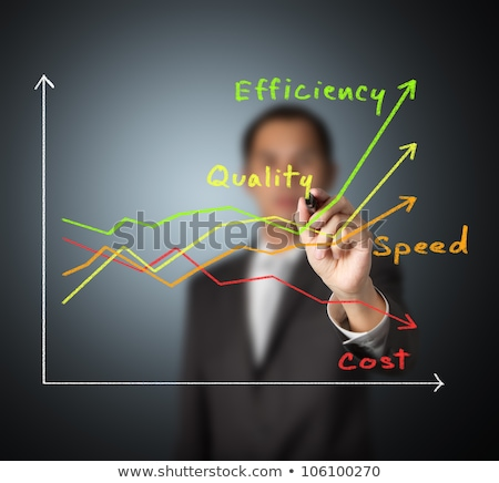 Quality Speed Graph Stock photo © ivelin