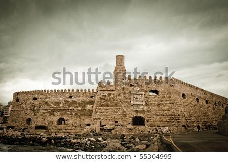 Veneziano cidade edifício castelo interior Foto stock © igabriela